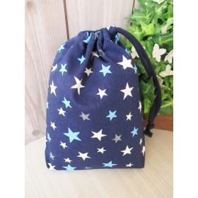巾着袋(24cm×18cm)*給食袋*入園入学/通園通学【16-A】