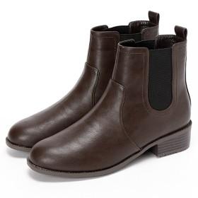[マルイ] 【19.5-27cm】晴雨兼用ブーツ(4.0cmヒール)/ヴェリココ ラクチンきれいシューズ