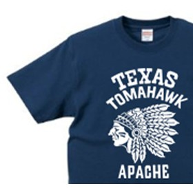 ネイティブ・アメリカン XS~XL Tシャツ【受注生産品】