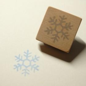 雪の結晶のはんこ 3