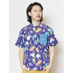 [マルイ]【セール】【チャイハネ】メキシカンアニマルMEN'Sシャツ/チャイハネ(CAYHANE)