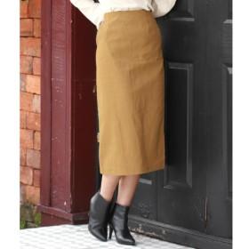 [マルイ]【セール】●起毛ツイルタイトスカート/チル(CHILLE)