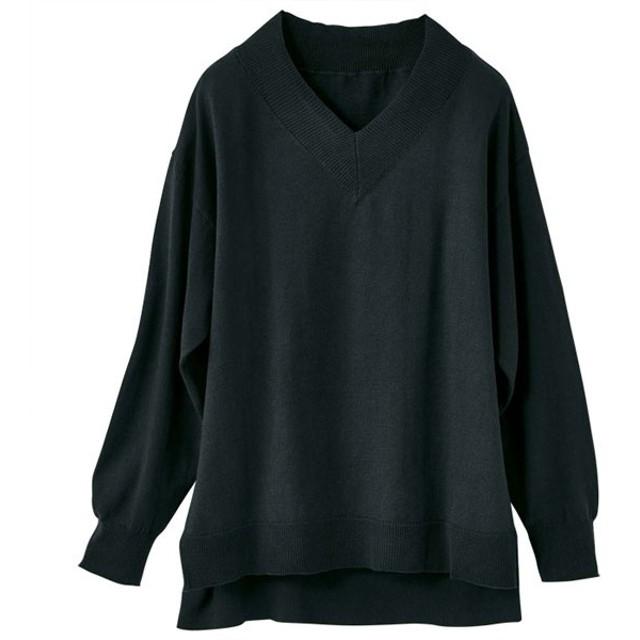 [マルイ] 綿100%Vネックニット/ジーラ バイ リュリュ(ファッション)(GeeRA by RyuRyu)