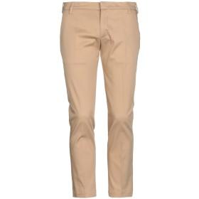 《期間限定 セール開催中》ENTRE AMIS メンズ パンツ キャメル 29 コットン 97% / ポリウレタン 3%