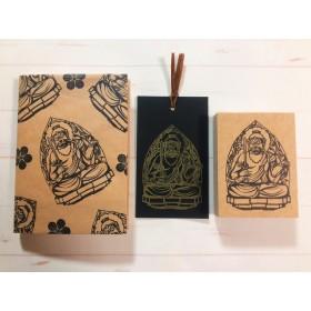 【第二弾!】仏像のハンコ 不動明王 手作りの御朱印帳や手帳、ノートに最適なサイズのハンコ