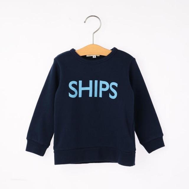 [マルイ]【セール】SHIPS KIDS:ロゴ スウェット(80-90cm)/シップス キッズ(SHIPS KIDS)