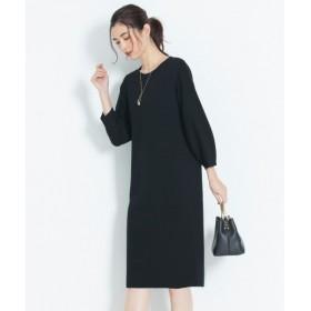 自由区 DOUBLE CLOTH ニットワンピース OPWMYW0104