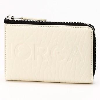 [マルイ] ロゴ二つ折り財布/モルガンオム(MORGAN HOMME)