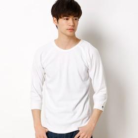 [マルイ]【セール】ヘビーリップル7分袖Tシャツ/クリフメイヤー(メンズ)(KRIFF MAYER)