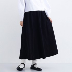 [マルイ]【セール】コーデュロイウエストリボンフレアスカート/メルロー(merlot)