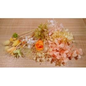 36 花材☆ハーバリウム☆プリザーブドフラワー☆アロマワックス☆ビタミンカラー☆キャンドル☆V1