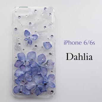 紫陽花ドライフラワーiPhoneケース iPhone6/6s