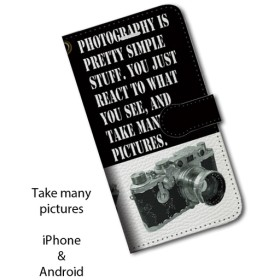 iPhone専用ケース・TAKE MANY PICTURES