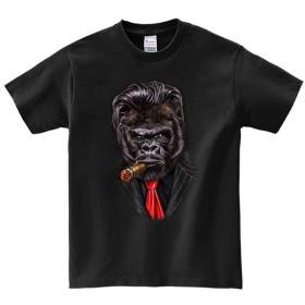 半袖Tシャツ 【スーツを着たゴリラ】 by FOX REPUBLIC
