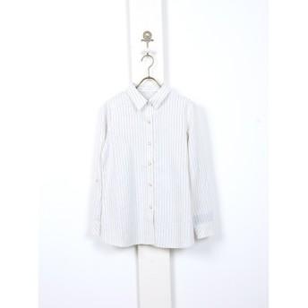 [マルイ]【セール】ストライプチェックシャツ/フェリーニ(fellini)