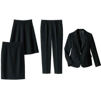 【レディース】 洗える4点セットスーツ ■カラー:ブラック ■サイズ:7号,5号(プチサイズ),9号,15号,13号,11号