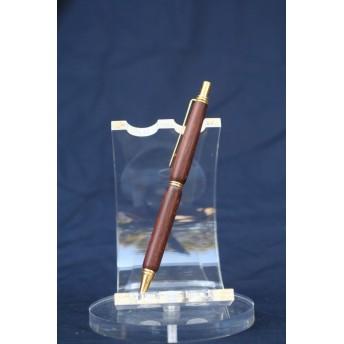 ホンジュラスローズウッド ワシントン条約材 ノック式シャーペン 0・5ミリ