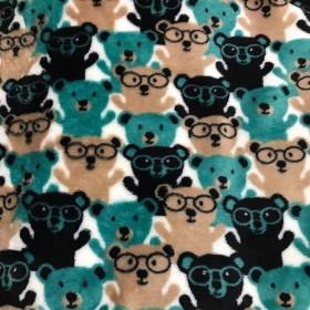 【犬服】もふもふ眼鏡クマ タンクトップ