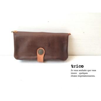 【試作品】ふたつ折り長財布