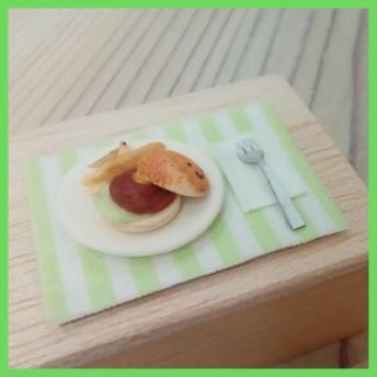 ミニチュア☆スマイルハンバーガー