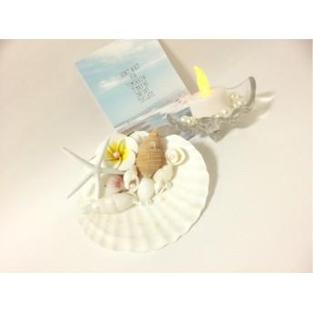 starfish×Plumeria-ringpillow*
