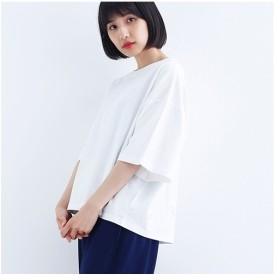[マルイ] ビッグシルエットボックスロゴTシャツ1535/メルロー(merlot)