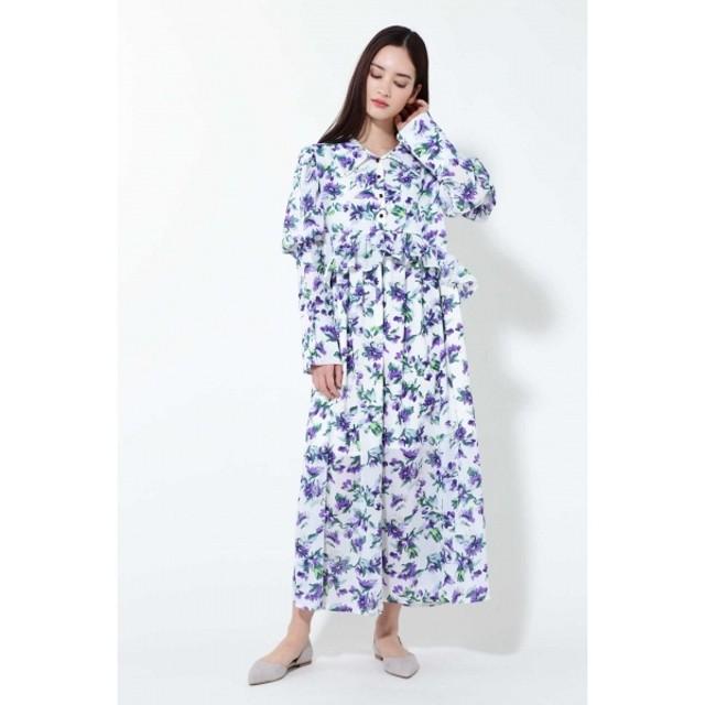 [マルイ]【セール】ヴァイオレットミディ丈ドレス/ローズバッド(ROSE BUD)