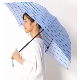 [マルイ]【セール】折り畳み傘【手開きタイプ】Pツイルボーダープリント(レディース/婦人)/ポロ ラルフローレン(傘)POLO RALPH LAUREN(umbrella)