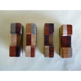 和の心 寄木細工の箸置き 1個250円