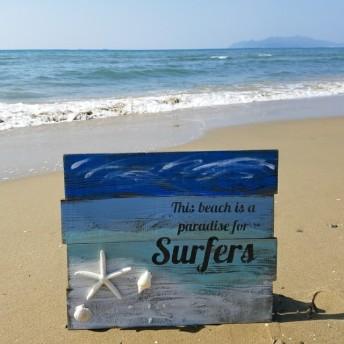 夏・海・西海岸!インテリア雑貨beachボード!
