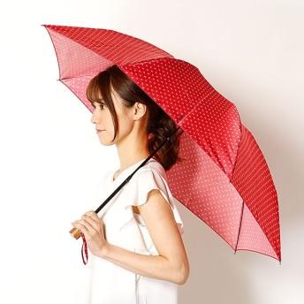 [マルイ]【セール】雨傘(3段/折りたたみ/ミニ)Pツイルスクエアドット(レディース/婦人)/ポロ ラルフローレン(傘)POLO RALPH LAUREN(umbrella)