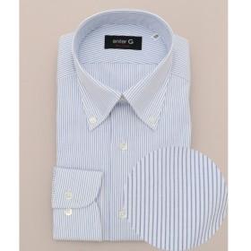 [マルイ] 【サッカー織り】【日本製】サッカーストライプシャツ/オンワード ジェイ ブリッジ(ONWARD J BRIDGE)