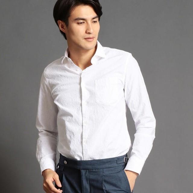 [マルイ]【セール】ボタニカル柄セミワイドカラーシャツ/ムッシュニコル(MONSIEUR NICOLE)