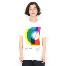 [マルイ] 【ユニセックス】ベーシックTシャツ/カラフル レコード/グラニフ(graniph)