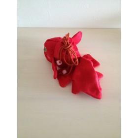 《再発売♪》金魚の巾着(紅)