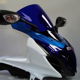 Skidmarx スキッドマークス ウィンドスクリーン ダブルバブルタイプ SUZUKI GSX-R1000 2009-2016