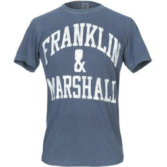 《9/20まで! 限定セール開催中》FRANKLIN & MARSHALL メンズ T シャツ ブルー XS コットン 50% / ポリエステル 50%