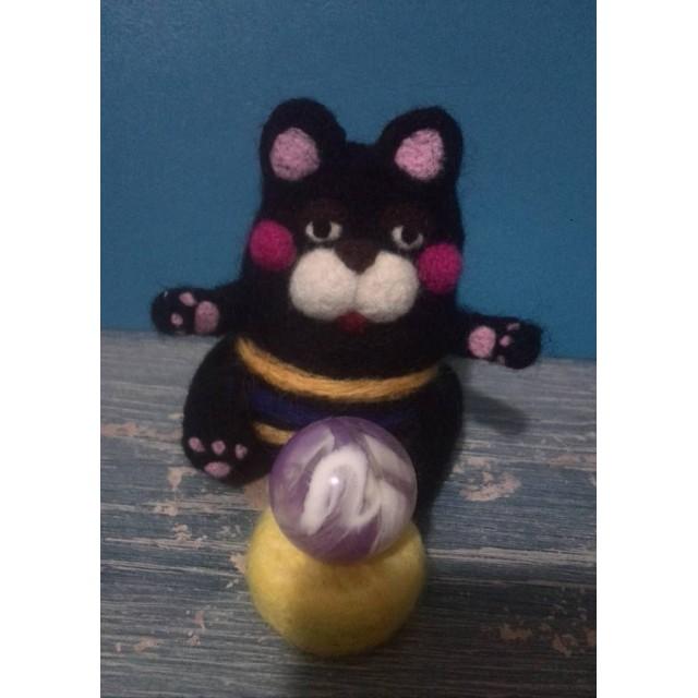 黒猫ブーちゃんの占いの館へようこそ!