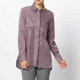 [マルイ]【セール】ミラノストライプビックチュニックシャツ/ナラカミーチェ(NARACAMICIE)