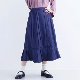 [マルイ] 【plus】ティアードプリーツ切り替えスカート/メルロープラス(merlotPLUS)