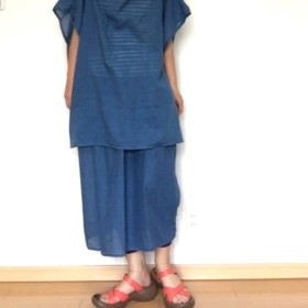 インド綿ロングスカート