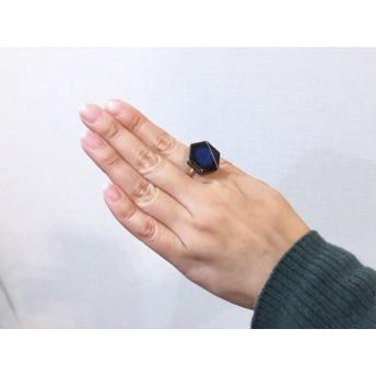 美濃焼タイルリング/指輪