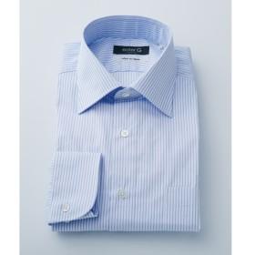 [マルイ]【セール】【日本製】サックスドビーストライプシャツ/オンワード ジェイ ブリッジ(ONWARD J BRIDGE)