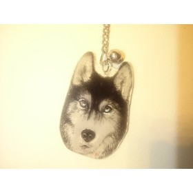 犬 キーホルダー【ハスキー】