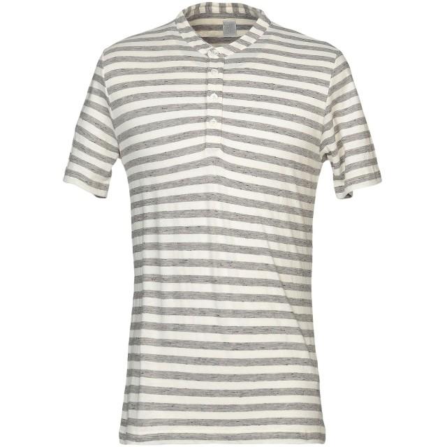 《セール開催中》ELEVENTY メンズ T シャツ ライトグレー S コットン 90% / ウール 10%
