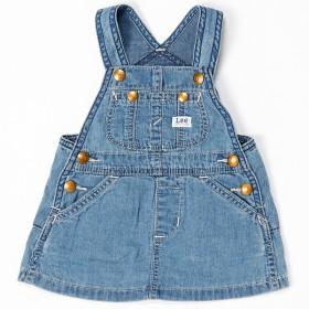 fb816fac6195c ジャンスカ デニムサロペット 女の子 ストレッチ スカート キッズ 110cm ...