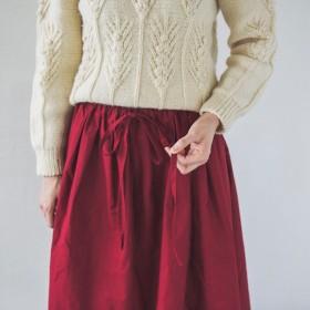 ◎リボンのギャザースカート◎007