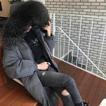 [55555SHOP]ダウンコート コート アウター ダウンコート 防寒 流行のデザインに仕立てた ダウンジャケット ロングタイプ