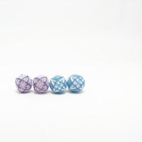 紫陽花【4colors】 手鞠のイヤリング ピアス
