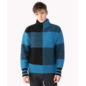 [マルイ]【セール】チェック オーバーサイズ セーター/トミーヒルフィガー(メンズ)(TOMMY)